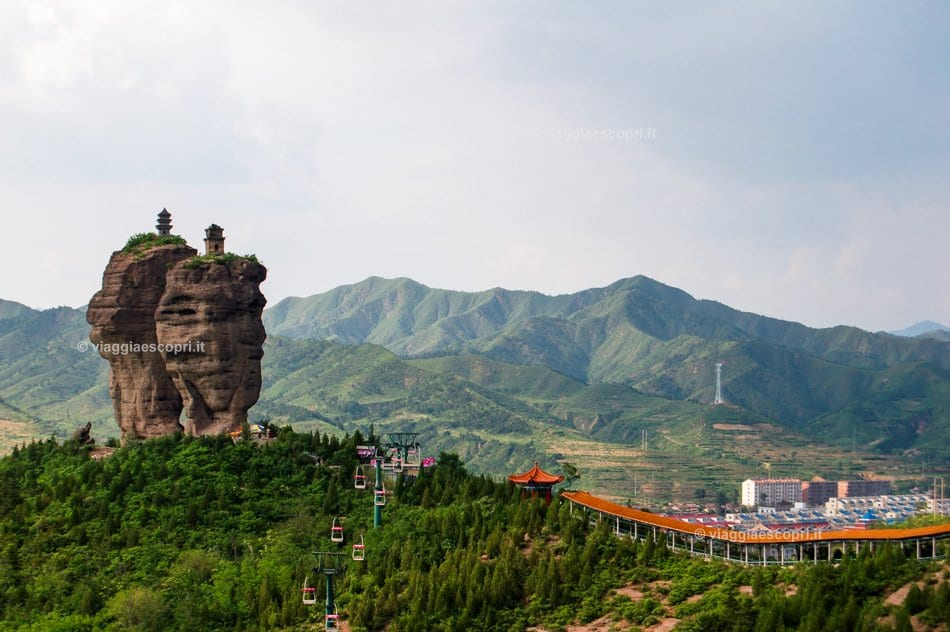 Double Tower Hill, Shuang Tashang, a Chengde, viaggio in Cina