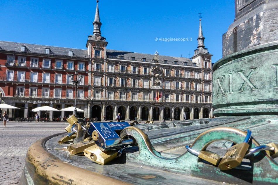 Plaza Mayor, visitare Madrid