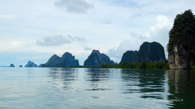 Escursione all'isola di James Bond a Phang Nga Bay
