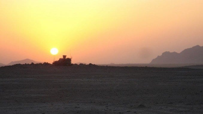 Afghanistan, tramonto