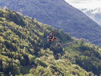 Fly Emotion, zip line in Lombardia