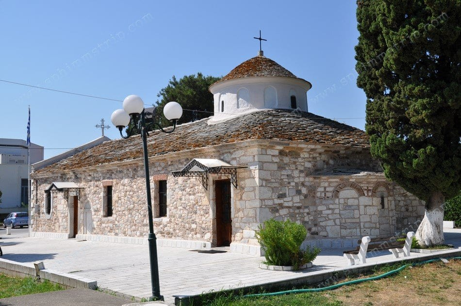 Cosa vedere a Thassos, chiesa a Limenas