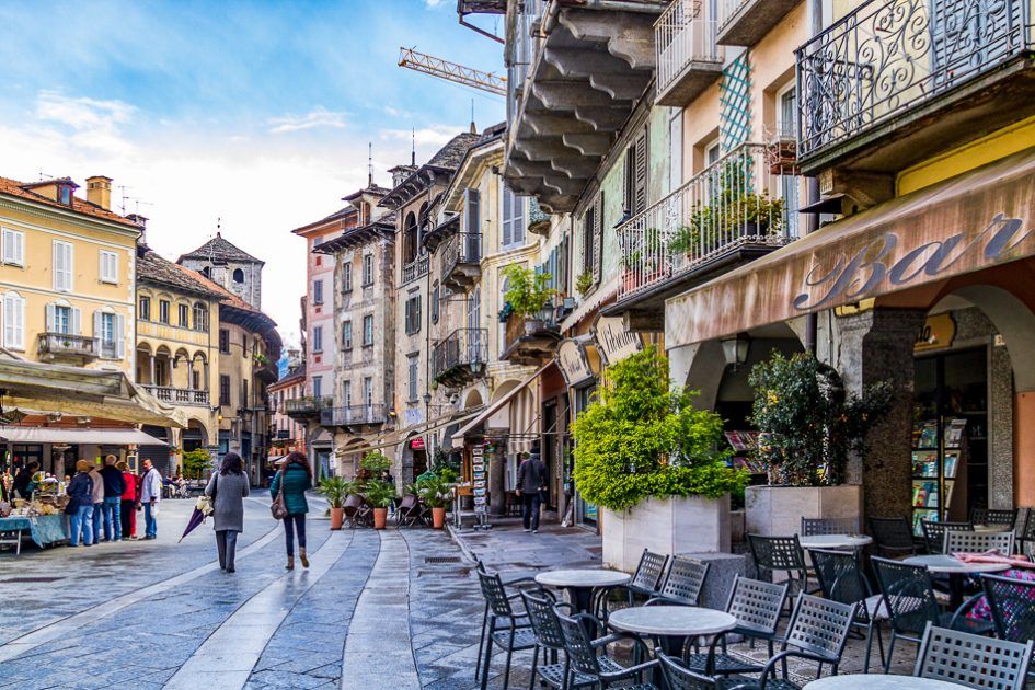Weekend a Domodossola, due passi in piazza