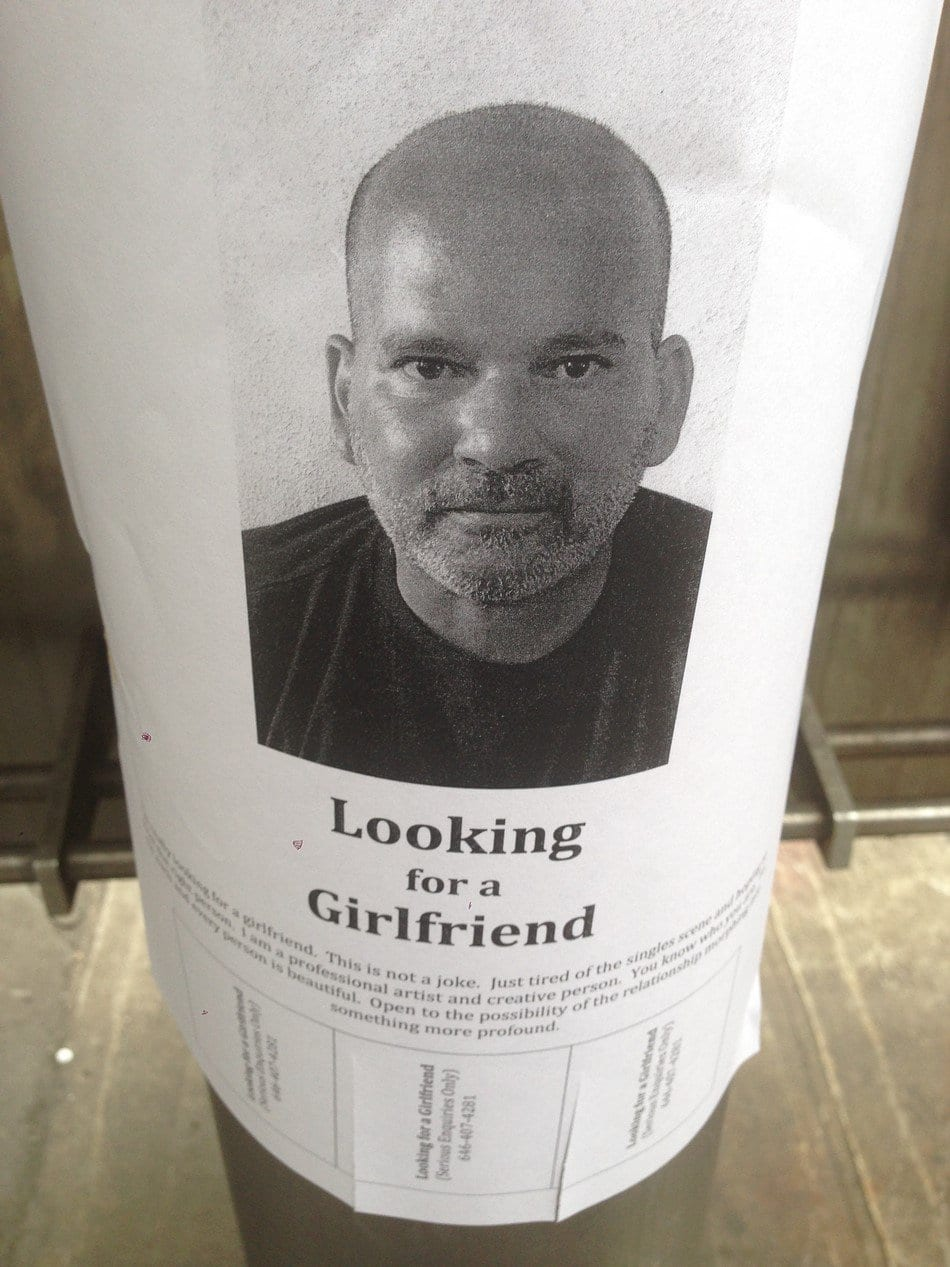 Newyorkers, Looking for a girlfriend di Dan Perino