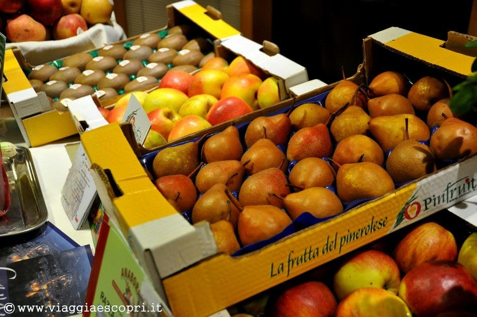 Frutta del pinerolese a gusto in quota