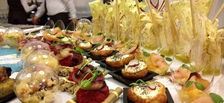 Sheraton Wine Travel, buffet aperitivo