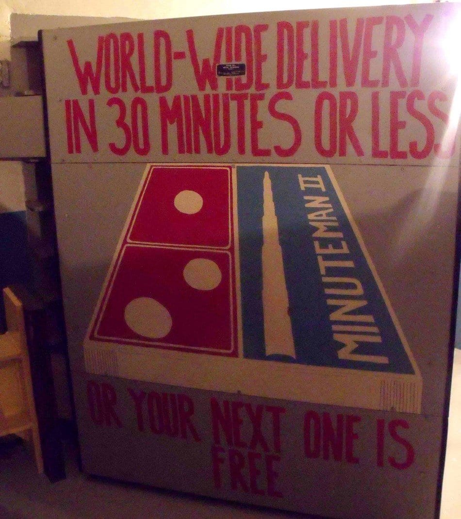 Minuteman Missile, World-wide delivery in 30 minutes or less