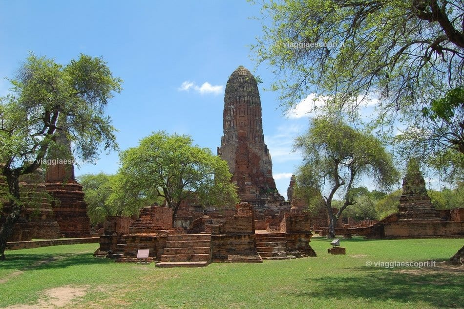 Wat Phra Ram, cosa vedere a Ayutthaya