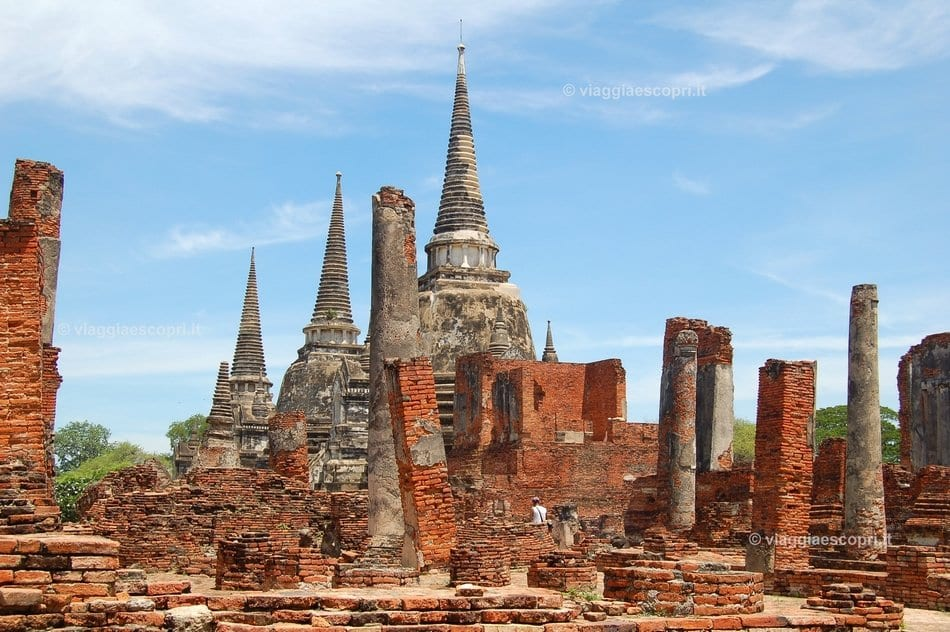 Wat Phra Si Sanphet, cosa vedere a Ayutthaya