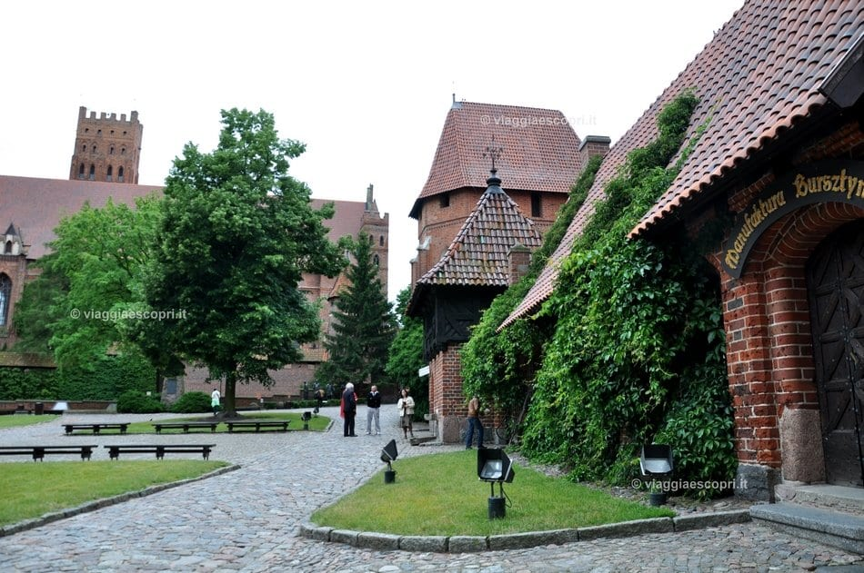 Cortile interno a Malbork