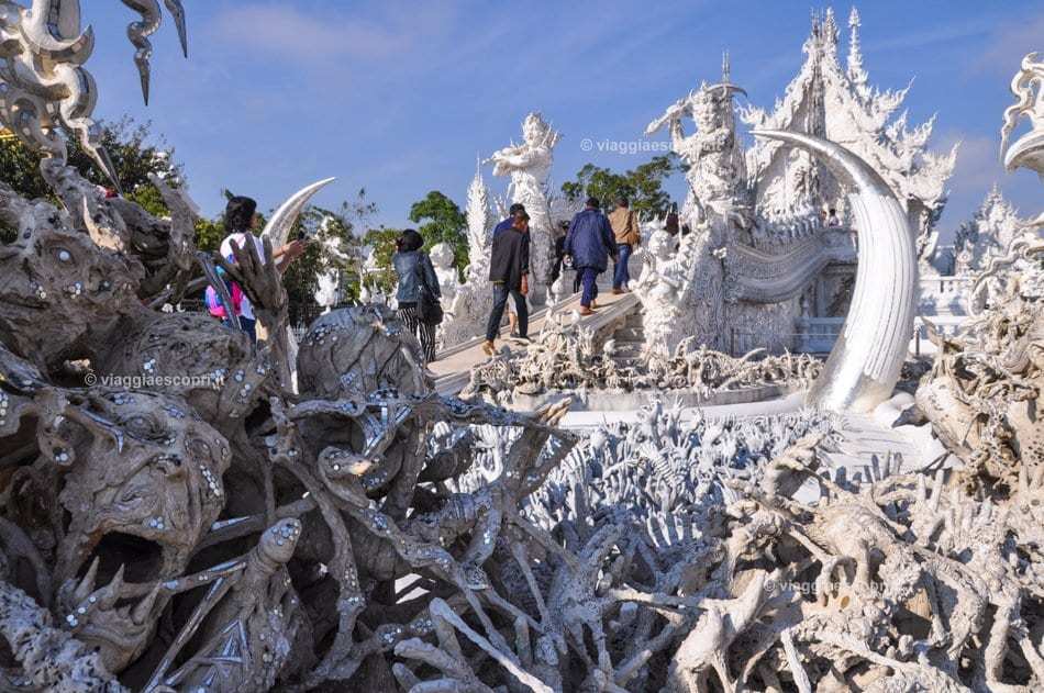 Wat Rong Khun, il White Temple, cosa vedere a Chiang Rai