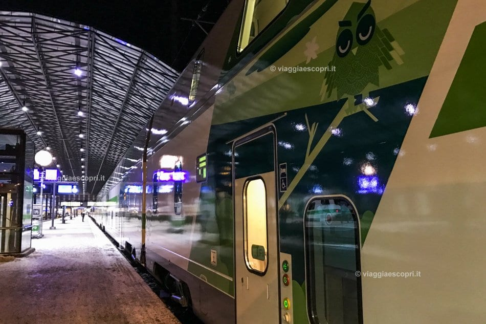 VR Train, viaggio in Finlandia