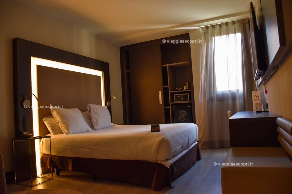 La camera al Novotel Madrid Center, viaggi gay a Madrid