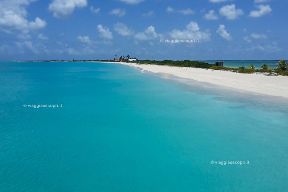 Panorama di Barbuda, viaggio ad Antigua e Barbuda