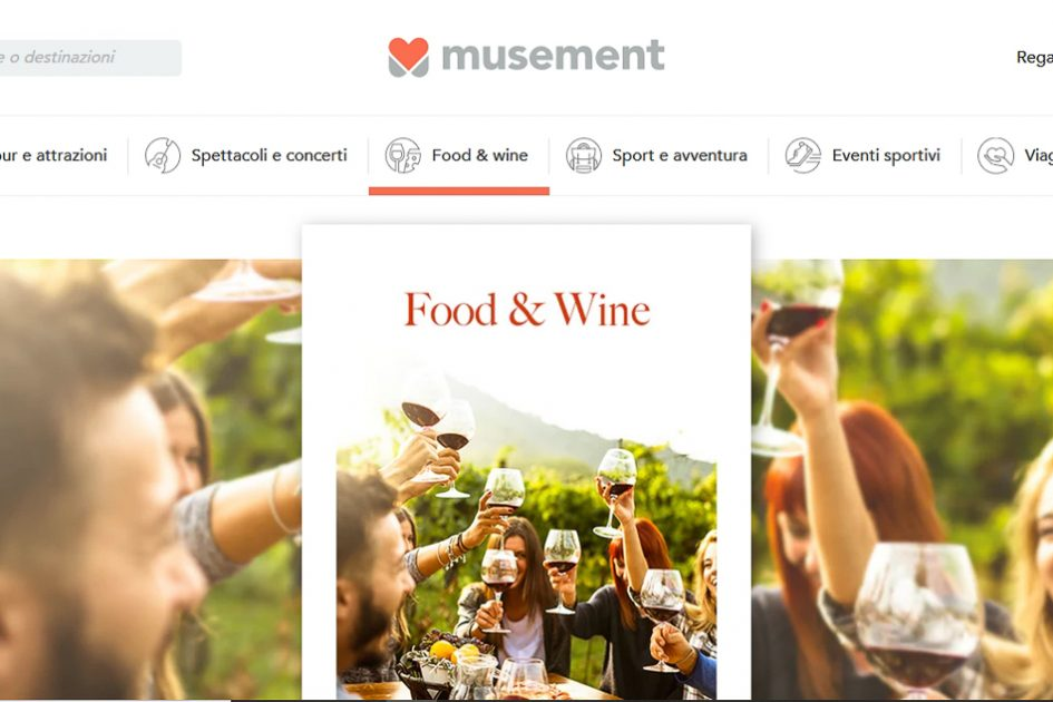 Esperienze Food & Wine su Musement